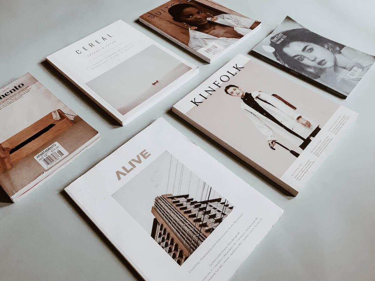 six independent design magazines