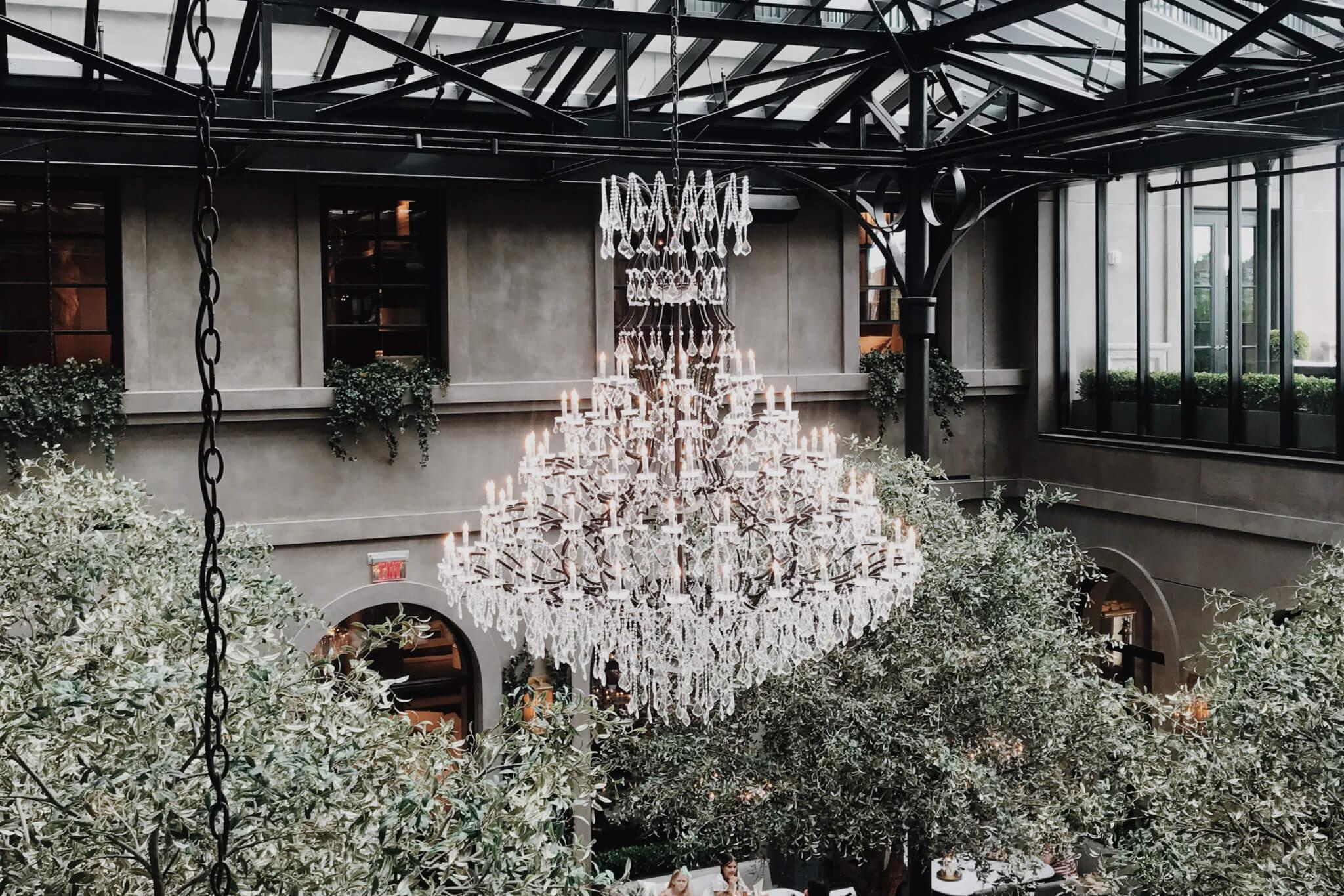 restoration hardware chandelier