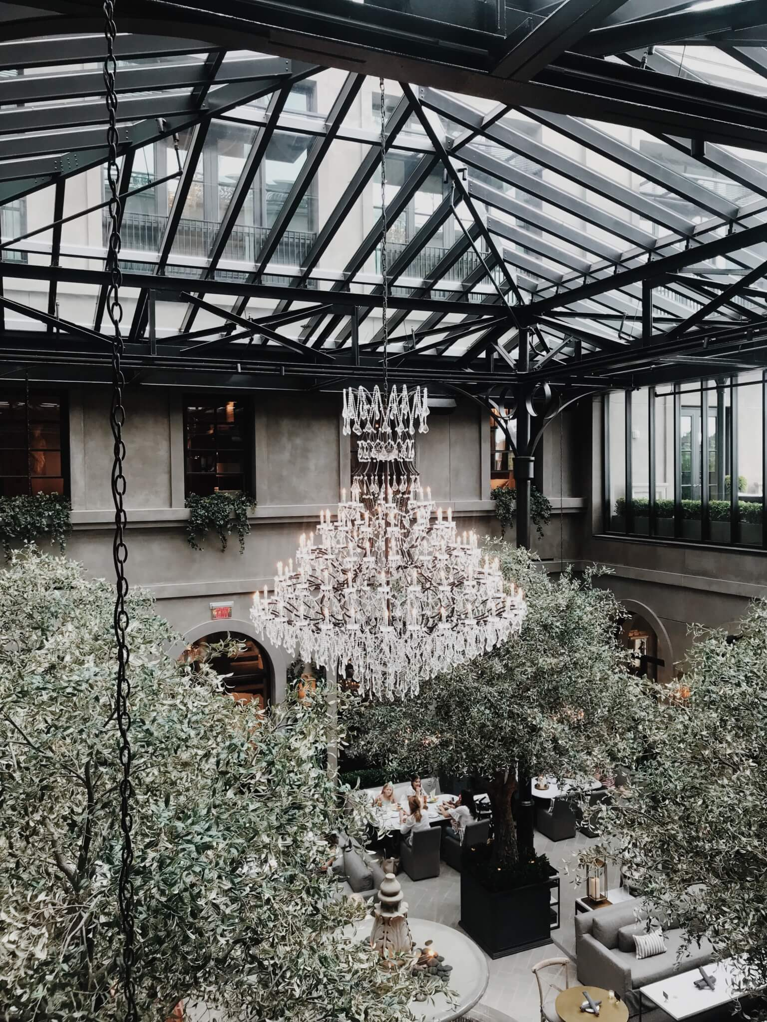 restoration hardware top floor